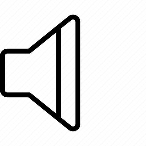 Essentials, min, mute, outline, sound, volume icon - Download on Iconfinder