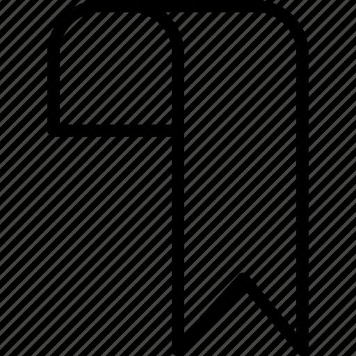 Bookmark, essentials, outline icon - Download on Iconfinder
