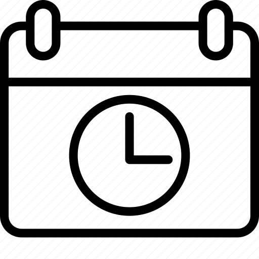 Calendar, dates, essentials, outline, reminder icon - Download on Iconfinder