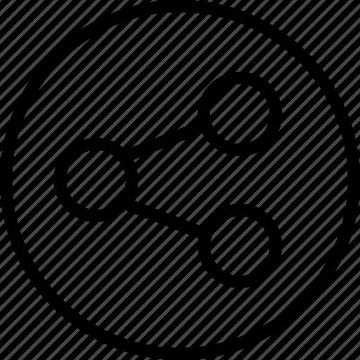 Essentials, media, outline, share icon - Download on Iconfinder