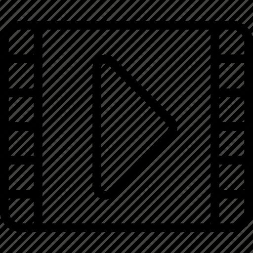 Essentials, film, media, movie, outline, record icon - Download on Iconfinder