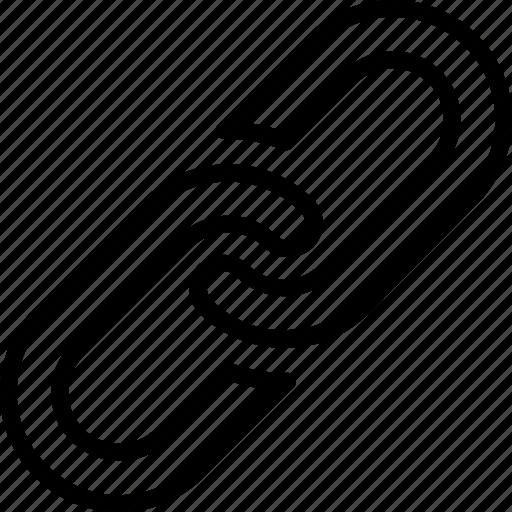Chain, essentials, link, outline icon - Download on Iconfinder