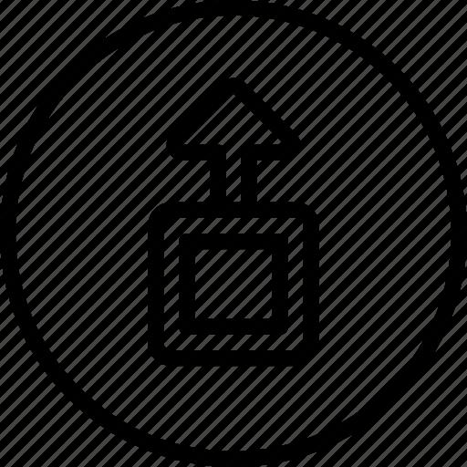 controls, download, essentials, outline icon