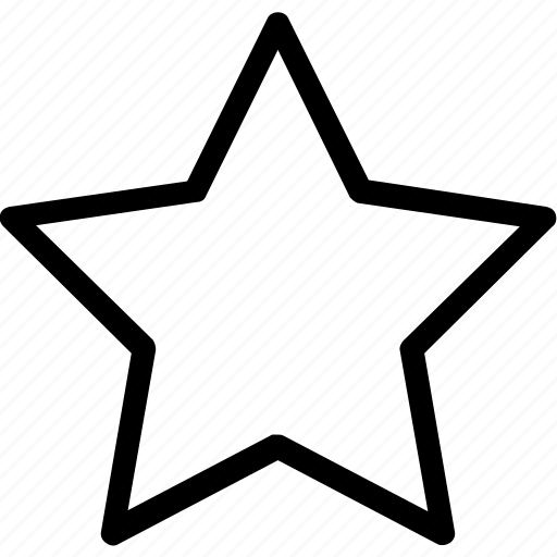 bookmark, favorites, star icon