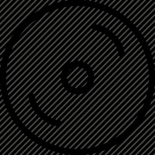 cd, disk, dj, music, play icon
