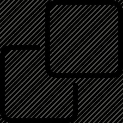 cubic, geometric, squoares, sugar icon