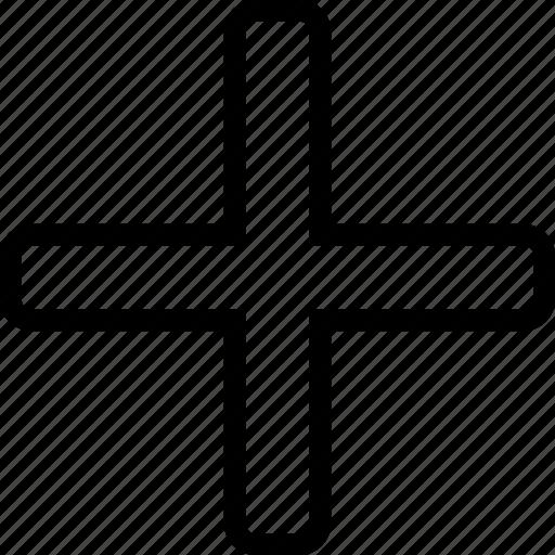 addition, math, plus icon