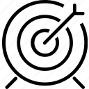 arrow, darts, friends, fun, game icon