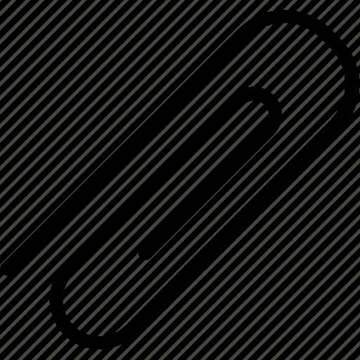clip, paper, secretary, store icon