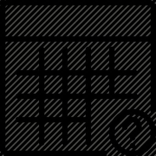 calculator, calculus, math, question, square icon