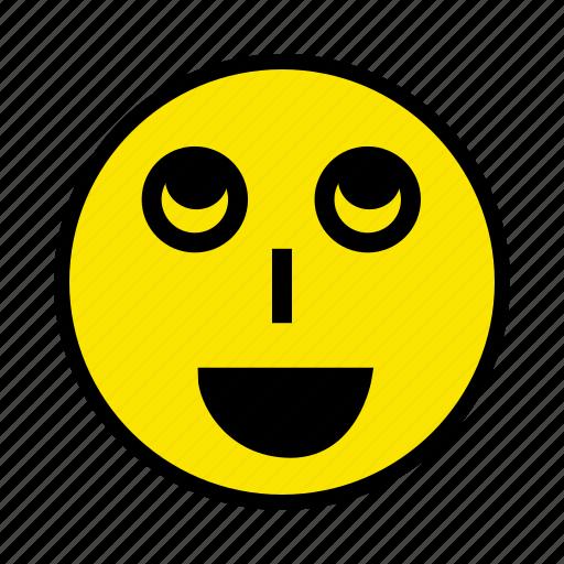 emoticons, face, happy, person, smile icon