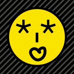 drunk, face, feel, sleepy icon