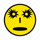 angry, disguise, face, halloween, holiday, sad icon