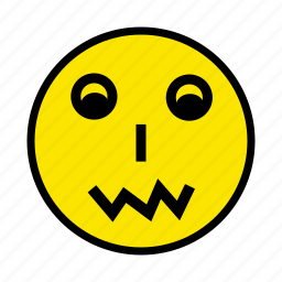 emotion, face, fear, holiday, man, person, smiley icon