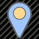direction, gps, location, map, navigation, pin