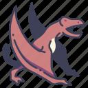 ancient, animal, dimorphodon, dino, dinosaur, flying, jurassic icon
