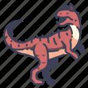 ancient, animal, carnotaurus, dino, dinosaur, jurassic, wild icon