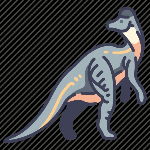 ancient, animal, corythosaurus, dino, dinosaur, jurassic, wild icon