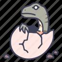 ancient, animal, dino, dinosaur, egg, jurassic, wild icon
