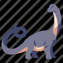 ancient, animal, apatosaurus, dino, dinosaur, jurassic, wild icon