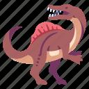 ancient, animal, dino, dinosaur, jurassic, spinosaurus, wild icon