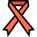 health, hiv, medical, ribbon icon