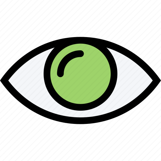 Eye Look See View Vision Icon