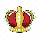 crown, decoration, exhibit, exhibition, museum, object, sights icon