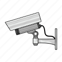 camera, equipment, protection, surveillance, tracking, video icon