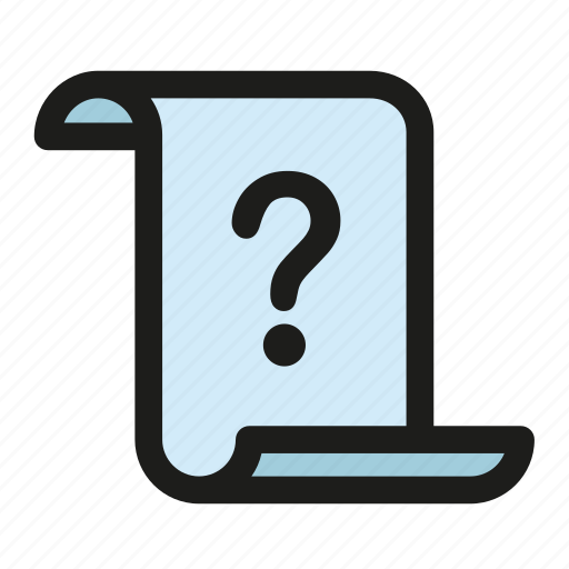 Comment, debate, essay, paper, query, question, unknown icon - Download on Iconfinder