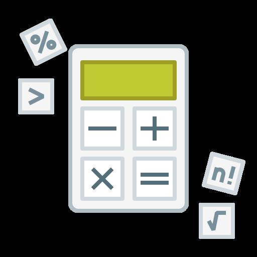 business, calc, calculator, finance, study icon