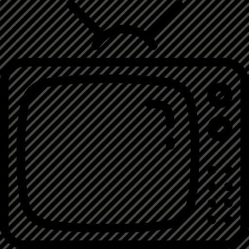 cinema, film, movie, news, television, tv icon