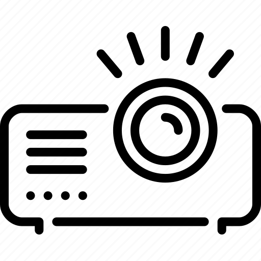 cinema, film, movie, projector, video icon
