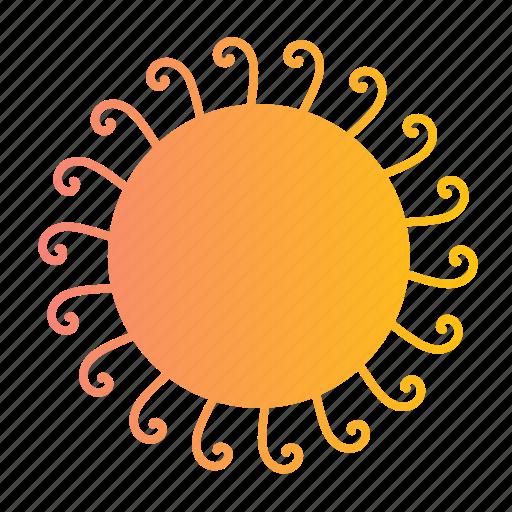 ornaments, star, stars, sun, sunny, suns, weather icon