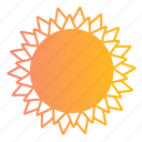 ornaments, star, stars, sun, sunny, suns, weather icon