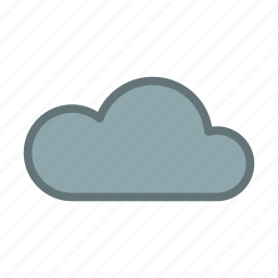 bad, cloud, cold, dark, forecast, weather icon