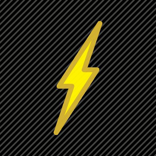 flash, forecast, lightning, storm, thunder, weather icon
