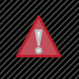 alert, danger, forecast, warning, weather icon