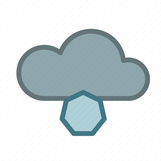 cloud, cold, forecast, hailing, ice, icy, weather icon