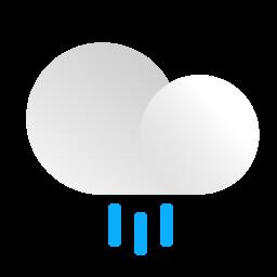 cloud, cloudy, forecast, precipitation, rain, rainy, weather icon