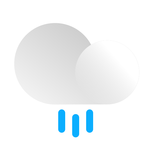Cloud, cloudy, forecast, precipitation, rain, rainy, weather icon - Free download