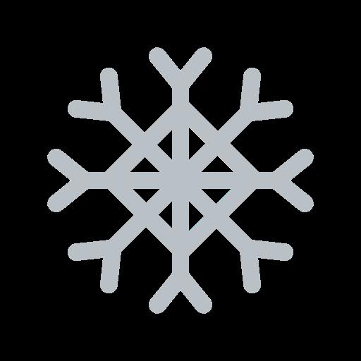 forecast, snow, snowflake, weather icon