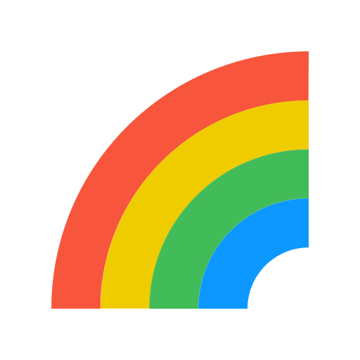 forecast, rainbow, spectr, weather icon