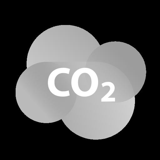 acid, carbon, co2, dioxide, mist, pollution, weather icon