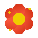 blossom, dust, flower, particles, pollen, pollution, weather icon