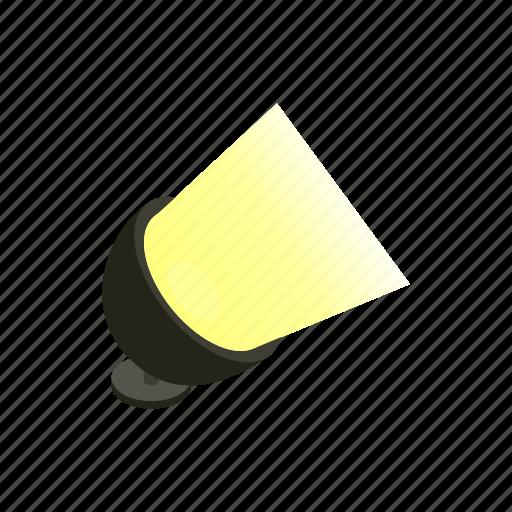 equipment, isometric, light, movie, opera, spotlight, theater icon