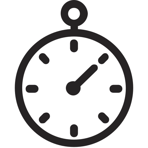 chronometer, fast, quick, stopwatch, timer icon
