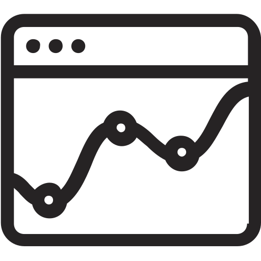 analytics, evolucion, graph, statistics icon