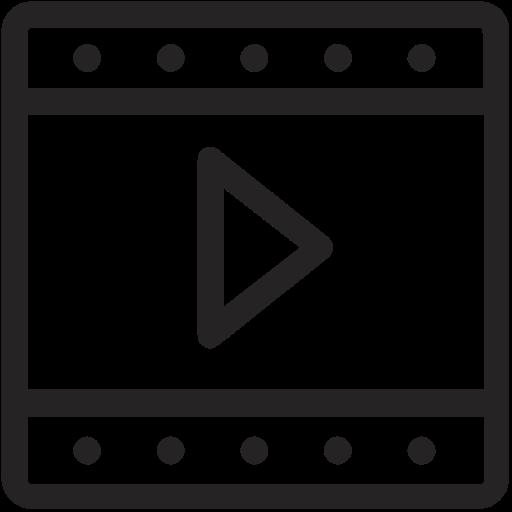 film, footage, movie, video icon