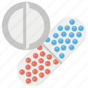 antibiotic, dose, medicines, pills, tablets icon